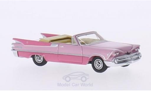 Dodge Custom Royal Lancer 1/87 BoS Models Convertible pink/pink 1959 diecast model cars