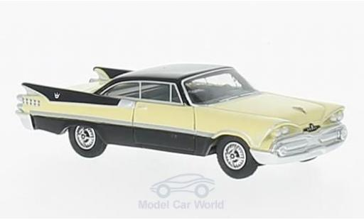 Dodge Custom Royal Lancer 1/87 BoS Models Coupe beige/noire 1959 miniature