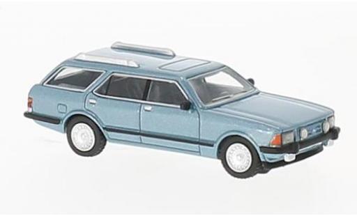Ford Granada 1/87 BoS Models MK II Turnier metallise bleue 1982 miniature