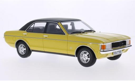 Ford Granada 1/18 BoS Models MKI 2.3 LS jaune/noire 1975 miniature