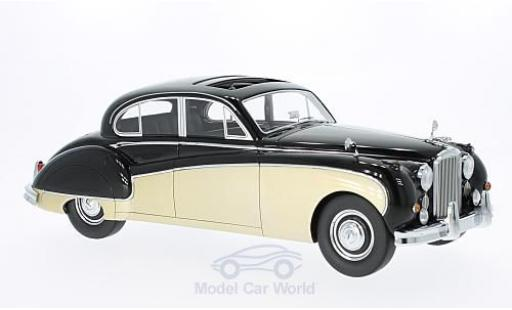 Jaguar MK 9 1/18 BoS Models VIII noire/gold RHD 1957 miniature