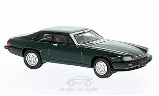 Jaguar XJ 1975 1/87 BoS Models -S green RHD diecast model cars