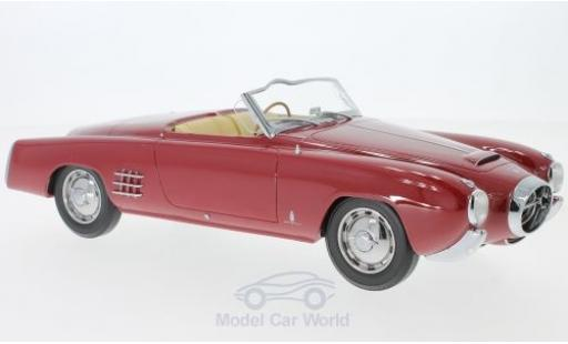 Lancia Aurelia 1/18 BoS Models PF200 C Spider rouge RHD 1953 miniature