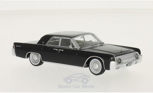 Lincoln Continental 1/43 BoS Models Sedan 53A noire 1961 ohne Vitrine miniature