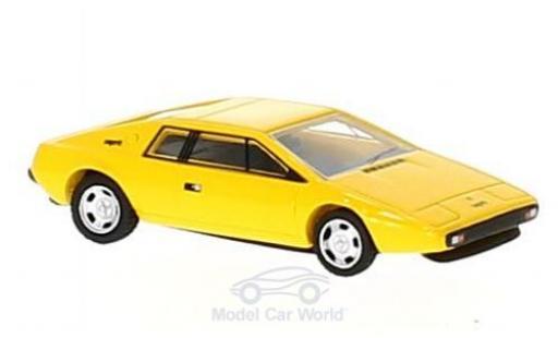 Lotus Esprit 1/87 BoS Models S1 jaune RHD 1977 miniature