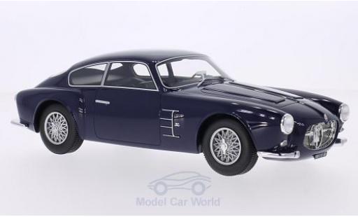 Maserati A6 1/18 BoS Models G 2000 Zagato dunkelblu 1956 miniatura
