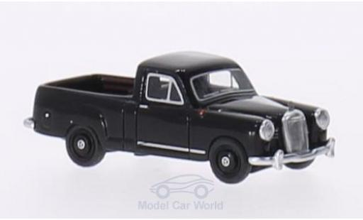 Mercedes 180 1/87 BoS Models (W120) Bakkie black RHD 1956 diecast model cars