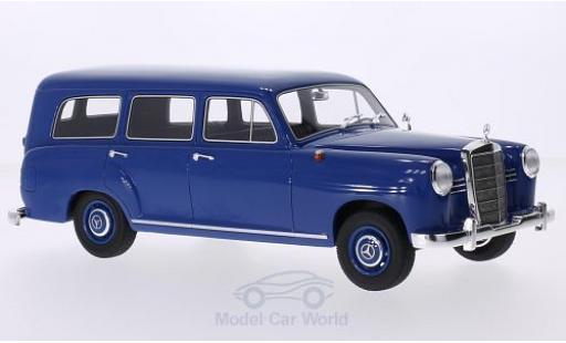 Mercedes 180 1/18 BoS Models (W120) Universal bleue 1954 miniature