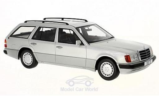 Mercedes 300 TE 1/18 BoS Models (S124) grise 1990 miniature