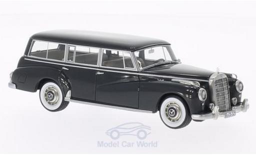 Mercedes 300 S 1/43 BoS Models C (W186) Binz grise 1956 miniature