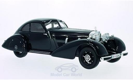 Mercedes 540 1/18 BoS Models K Autobahn-Kurier noire 1935 miniature