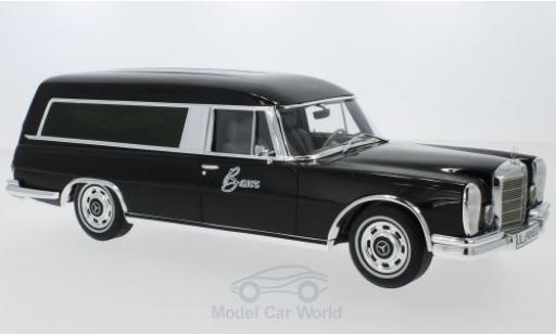 Mercedes 600 1/18 BoS Models Pollmann noire 1969 miniature