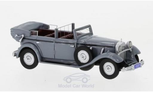 Mercedes 770 1/87 BoS Models (W07) Convertible grey RHD 1930 diecast