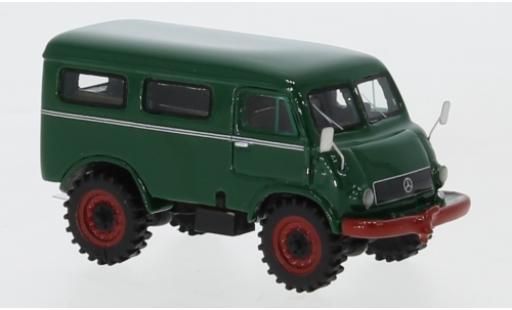 Mercedes Unimog 1/87 BoS Models 402 verte 1956 miniature