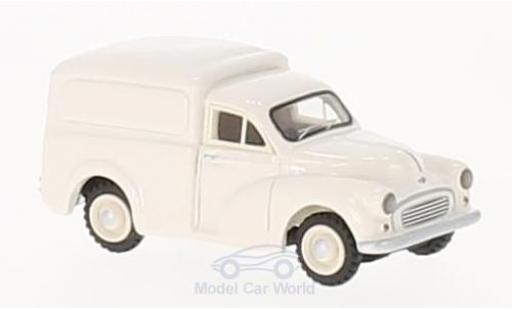 Morris Minor 1/87 BoS Models Van blanche 1960 miniature