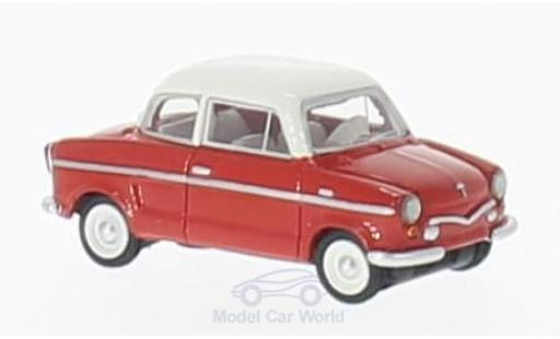 NSU Prinz 1/18 BoS Models III rouge/blanche 1960 miniature