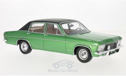 Opel Admiral 1/18 BoS Models B metallise verte/noire 1971 miniature