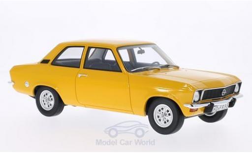 Opel Ascona C 1/18 BoS Models A dunkeljaune 1973 2-Türer miniature