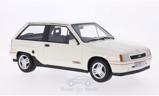 Opel Corsa 1/18 BoS Models A GSI blanche 1990 miniature