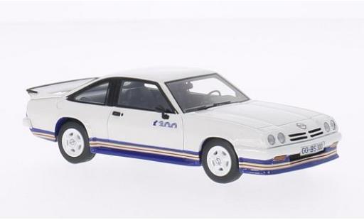 Opel Manta 1/43 BoS Models B i200 blanche/Dekor 1985 miniature