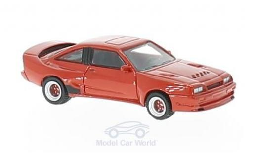 Opel Manta B 1/87 BoS Models Mattig rouge 1991 miniature