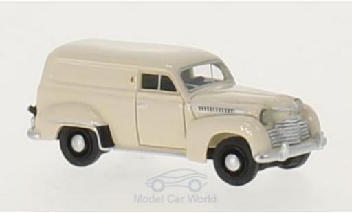 Opel Olympia 1/87 BoS Models Kastenwagen beige 1951 miniature