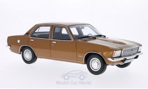 Opel Rekord 1/18 BoS Models D 2100D gold 1973 miniature