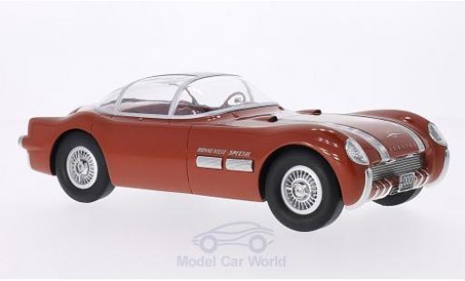 Pontiac Bonneville 1/18 BoS Models Special bronze 1954 miniature