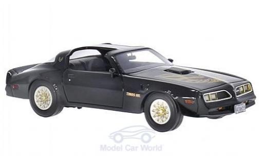 Pontiac Firebird 1/43 BoS Models Trans Am noire/Dekor 1977 miniature