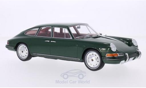 Porsche 911 SC 1/18 BoS Models S Troutman & Barnes metallise green 1967 diecast model cars