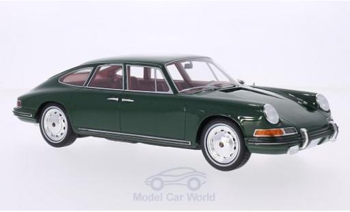 Porsche 911 SC 1/18 BoS Models S Troutman & Barnes metallise verte 1967 miniature
