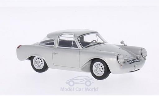 Porsche 356 Glockler 1/43 BoS Models Glöckler Coupe grise 1954