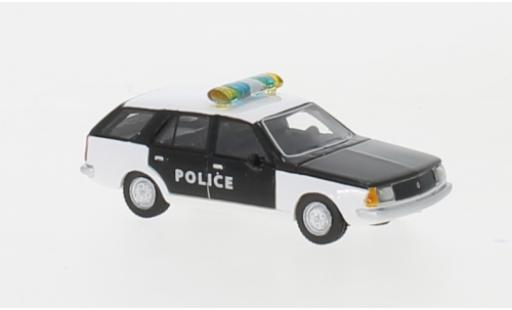 Renault 18 1/87 BoS Models Break blanche/noire Police 1978 miniature