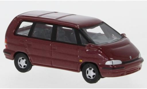 Renault Espace 1/87 BoS Models II metallise rouge 1991 miniature
