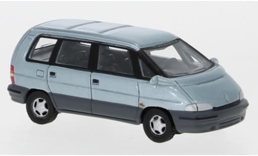 Renault Espace 1/87 BoS Models II metallise bleue 1991 miniature