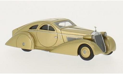 Rolls Royce Phantom 1/87 BoS Models I Jonckheere Coupe gold RHD 1925 miniature