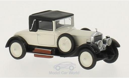 Rolls Royce Silver Ghost 1/87 BoS Models Doctors Coupe beige/noire RHD 1920 miniature