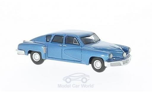 Tucker Torpedo 1/87 BoS Models metallise bleue 1948 miniature