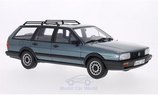 Volkswagen Passat 1/18 BoS Models Variant GT Syncro (B2) metallise bleue 1987 miniature