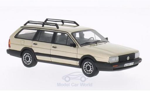 Volkswagen Passat 1/43 BoS Models Variant GT Syncro metallise beige 1985 diecast model cars