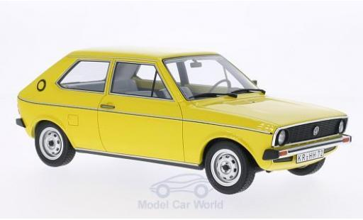 Volkswagen Polo 1/18 BoS Models I L (Typ 86) yellow 1975 diecast