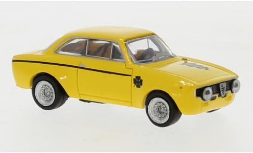 Alfa Romeo GT 1/87 Brekina A 1300 yellow 1965 diecast model cars