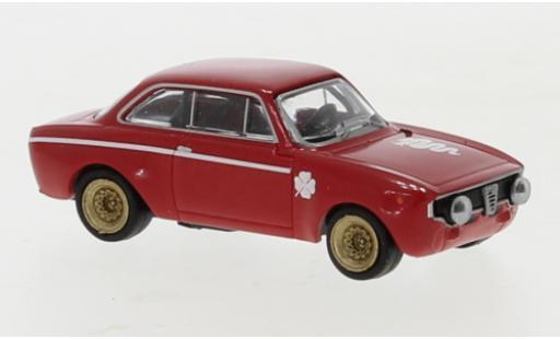 Alfa Romeo GT 1/87 Brekina A 1300 rouge 1965 miniature