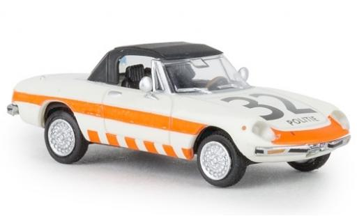 Alfa Romeo Spider 1/87 Brekina Politie 32 1969 geschlossen TD miniature