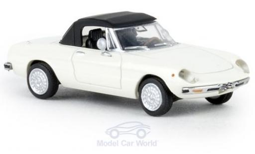 Alfa Romeo Spider 1/87 Brekina blanche 1969 geschlossen TD miniature