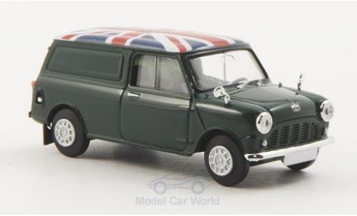 Austin Mini Van 1/87 Brekina dunkelgrün Union Jack miniature