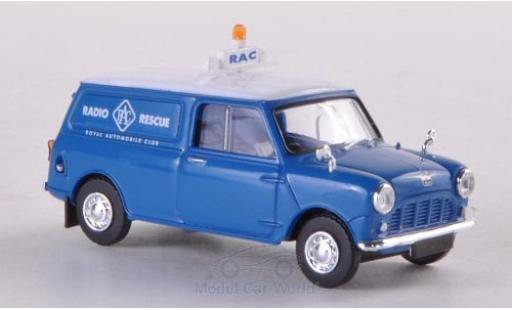 Austin Mini Van 1/87 Brekina RAC Radio Rescue miniature