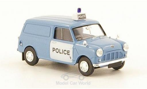 Austin Mini Van 1/87 Brekina RHD Police (UK) Polizei miniature