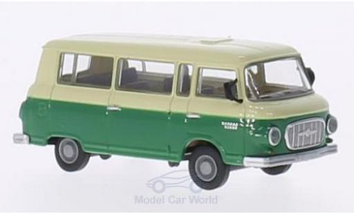 Barkas B 1000 1/87 Brekina Bus beige/verte miniature