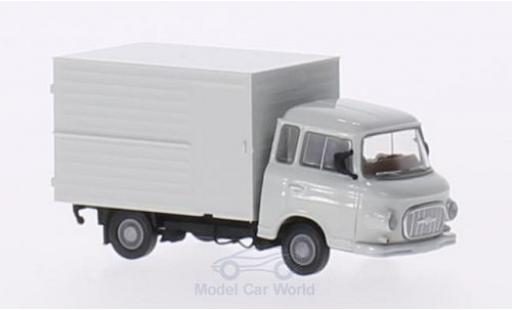 Barkas B 1000 1/87 Brekina grise Koffer miniature